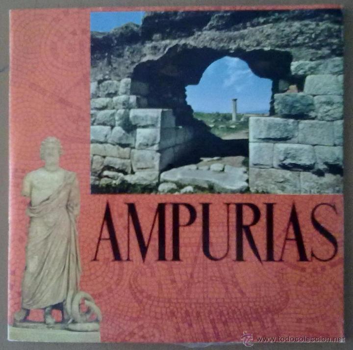 Folletos de turismo: FOLLETO TURISMO AMPURIAS (GERONA) CON DISCO 33 1/3 RPM. EN CASTELLANO - Foto 2 - 51850456