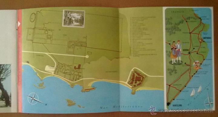 Folletos de turismo: FOLLETO TURISMO AMPURIAS (GERONA) CON DISCO 33 1/3 RPM. EN CASTELLANO - Foto 4 - 51850456