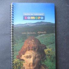 Folletos de turismo: GUIA DE TURISMO ZAMORA. Lote 52131705