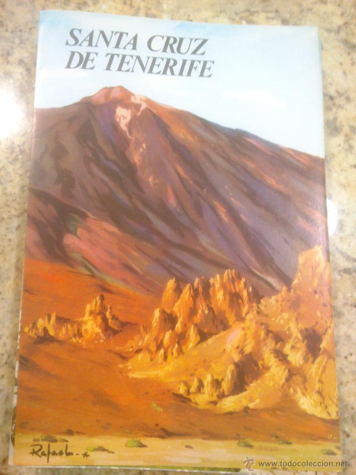 TRIPTICO. TURISMO. FOLLETO.AÑOS;60 SANTA CRUZ DE TENERIFE (Coleccionismo - Folletos de Turismo)