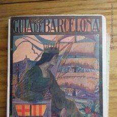Folletos de turismo: GUIA DE BARCELONA.. Lote 52609625