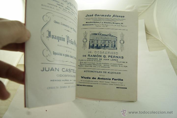 Folletos de turismo: RARO PROGRAMA DE FIESTAS BETANZOS 1926 - Foto 5 - 52636725
