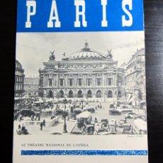 Folletos de turismo: PLANO PARIS 1957 PHOTO YVON. Lote 52972586
