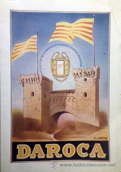 DAROCA. FIESTAS DEL CORPUS CHRISTI 1953. PROGRAMA OFICIAL. (Coleccionismo - Folletos de Turismo)