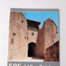 Brochures de tourisme: SOS DEL REY CATOLICO / JOSE CABEZUDO ASTRAIN / ZARAGOZA 1973 / HISTORIA Y ARTE. Lote 53162397