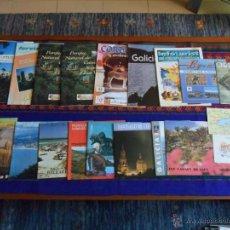 Folletos de turismo: HUNGRÍA BUDAPEST VALLE TIÉTAR CATALUNYA ISLAS CANARIAS GALICIA SANTIAGO COMPOSTELA MADRID PAMPLONA... Lote 53221725