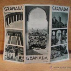 Brochures de tourisme: FOLLETO TURISTICO DE GRANADA. Lote 53389802