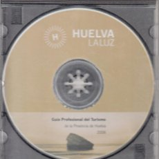Folletos de turismo: CD HUELVA LA LUZ. GUÍA PROFESIONAL DEL TURISMO DE LA PROVINCIA DE HUELVA. 2006. Lote 53477180