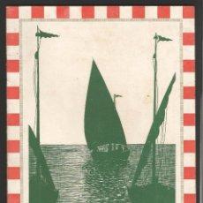 Folletos de turismo: BADALONA - FIESTA MAYOR 1939. Lote 55812122