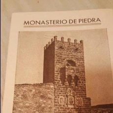 Folletos de turismo: MONASTERIO DE PIEDRA GUIA DEL VISITANTE. Lote 53795398