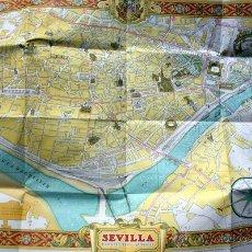 Folletos de turismo: SEVILLA ARTISTICA - PLANO TURISTICO - CON DESCRIPCIÓN DE SUS MONUMENTOS Y CON PUBLICIDAD. Lote 53889794