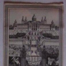Folletos de turismo: EXPOSICION UNIVERSAL DE BARCELONA 1929 . Lote 54035546