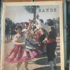 Folletos de turismo: MURCIA BANDO DE LA HUERTA FIESTAS DE PRIMAVERA 1973. Lote 54060449