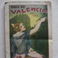 GUIA DE VALENCIA .AÑO 1933. 016
