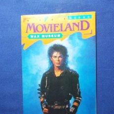 Folletos de turismo: FOLLETO MOVIELAND- WAS MUSEUM EN LOS ANGELES. Lote 54795056