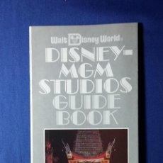 Folletos de turismo: FOLLETO DISNEY MGM STUDIOS-WALT DISNEY WORLD-ORLANDO-FLORIDA. Lote 54889184