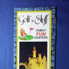 Folletos de turismo: FOLLETO GOLF STUFF CALIFORNIA. Lote 54937882