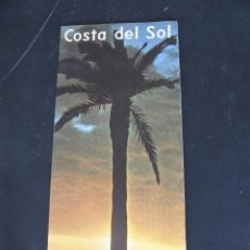 Folletos de turismo: FOLLETO DESPLEGABLE COSTA DEL SOL. AÑOS 60-70?. Lote 55031032