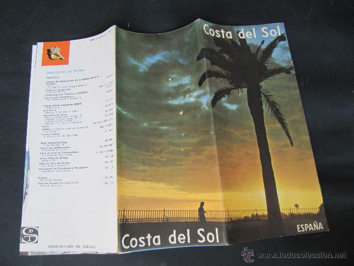 Folletos de turismo: FOLLETO DESPLEGABLE COSTA DEL SOL. AÑOS 60-70? - Foto 4 - 55031032