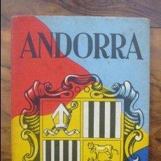 Folletos de turismo: ANDORRA. MAPA-GUIA TURISTIC.. Lote 55031834