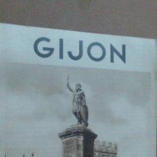 Folletos de turismo: FOLLETO TURISTICO DE GIJON, ASTURIAS, CON FOTOS, 8 PAGINAS. Lote 55037229