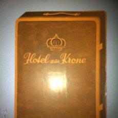 Brochures de tourisme: ANTIGUO FOLLETO HOTEL ZUR KRONE BRUNNEN. Lote 55335171
