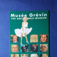 Folletos de turismo: FOLLETO MUSEE GREVIN PARIS. Lote 55373035
