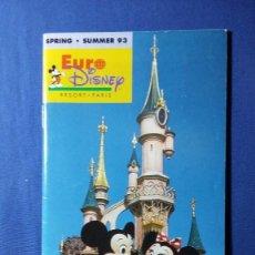 Foglietti di turismo: FOLLETO EURODISNEY AÑO 93. Lote 55373131