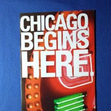Folletos de turismo: FOLLETO CHICAGO HISTORY MUSEUM. Lote 55582037