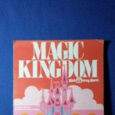 Folletos de turismo: FOLLETO MAGIC KINGDOM - WALT DISNEY WORLD EN ESPAÑOL . Lote 55585644