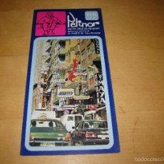 Folletos de turismo: ANTIGUO FOLLETO PUBLICITARIO HOTEL PELINOR - TENERIFE. Lote 55997246