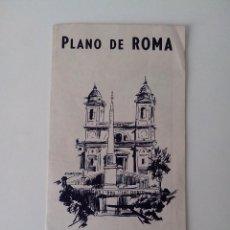 Folletos de turismo: PLANO DE ROMA ANTIGUO. Lote 56512523