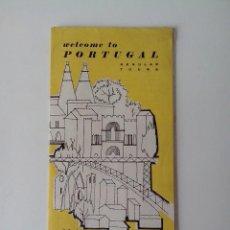 Folletos de turismo: CATALOGO ANTIGUO Y TURISTICO DE PORTUGAL EN INGLES. Lote 56512539