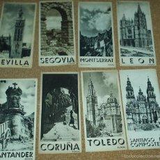 Folletos de turismo: LOTE DE 8 FOLLETOS DE TURISMO DE LA REPUBLICA - SON TRIPTICOS EN MUY BUEN ESTADO- VER FOTOS LEER. Lote 56600335