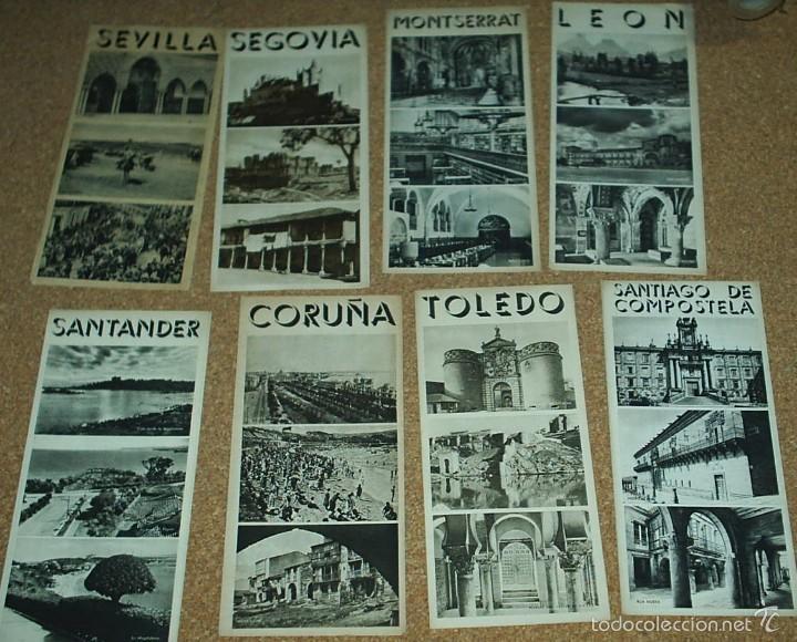 Folletos de turismo: LOTE DE 8 FOLLETOS DE TURISMO DE LA REPUBLICA - SON TRIPTICOS EN MUY BUEN ESTADO- VER FOTOS LEER - Foto 2 - 56600335