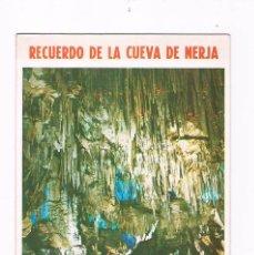 Folletos de turismo: FOLLETO TURISMO ANTIGUO RECUERDO DE LA CUEVA DE NERJA 1977. Lote 56853965