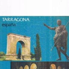 Folletos de turismo: FOLLETO ANTIGUO TURISMO TARRAGONA 1975. Lote 56854430