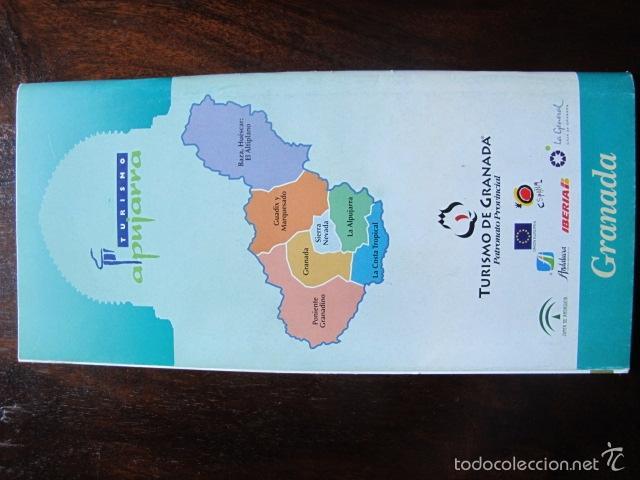 Folletos de turismo: folleto la alpujarra turismo de granada sierra nevada - Foto 2 - 56948130