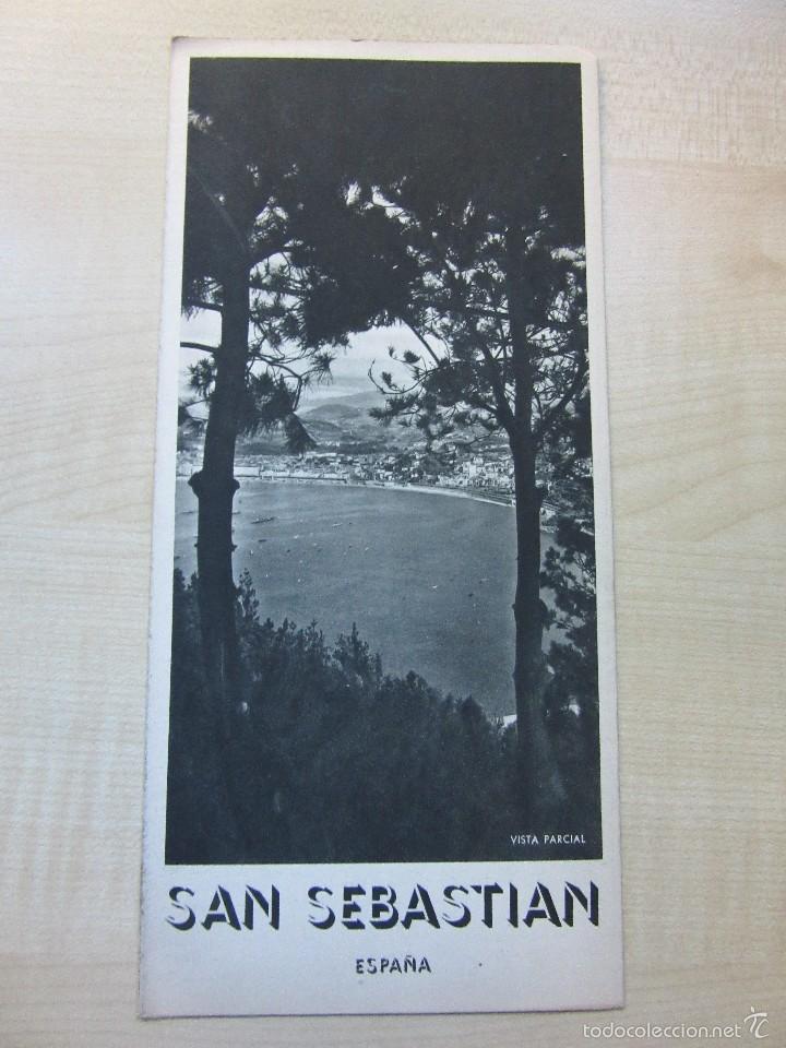 Triptico de San Sebastian Años 40 o 50 segunda mano