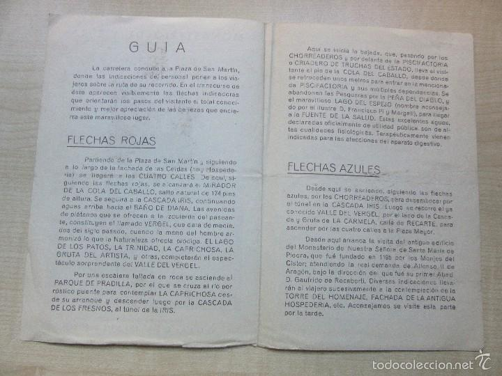 Folletos de turismo: Antigua Guía del Visitante del Monasterio de Piedra - Foto 3 - 57260360