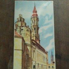 Folletos de turismo: GUIA TURISTICA DE ZARAGOZA DEL AÑO1954. Lote 57685844