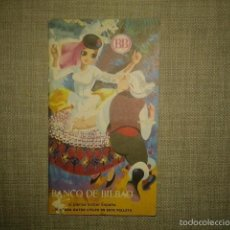 Brochures de tourisme: FOLLETO DE TURISMO AÑO 1972 BANCO DE BILBAO MAPA GASTRONOMICO. Lote 113134286