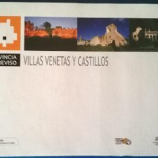 Folletos de turismo: VILLAS VENETAS Y CASTILLOS - PROVINCIA DI TREVISO. ITALIA - VENETO. TRA LA TERRA E IL CIELO -FOLLETO. Lote 57830305