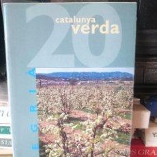 Folletos de turismo: LA VANGUARDIA CATALUNYA VERDA - NUMERO 20 - SEGRIA --REFM1E4. Lote 58087010
