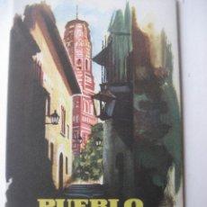 Plano ciudad cuenca oficina turismo 1961 comprar for Oficina de turismo barcelona