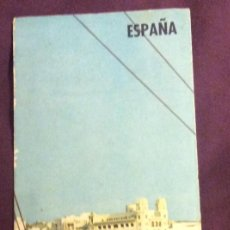 Folletos de turismo: FOLLETO TURISMO. CEUTA. AÑOS 60-70. DESPLEGABLE. Lote 58192406