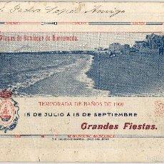 Folletos de turismo: MAGNIFICA REVISTA - SANLUCAR DE BARRAMEDA (CADIZ) GRANDES FIESTAS: 15-JULIO A 15 SEPTIEMBRE-1909. Lote 58269728