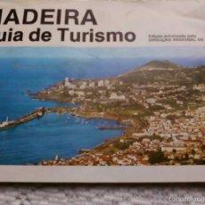 Folletos de turismo: GUIA DE TURISMO DE MADEIRA. Lote 58329958