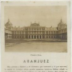 Brochures de tourisme: FOLLETO TURISTICO. ARANJUEZ A-FOTUR-0616. Lote 211464802