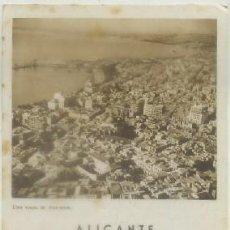 Folletos de turismo: FOLLETO TURISTICO. ALICANTE A-FOTUR-0619. Lote 191964687